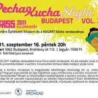 Pecha Kucha Night Budapest vol 24.: Kortárs művészetek térhasználati módszerei