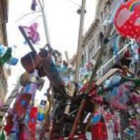Szemétálmok - utcai művészetoktatás, reart, happening