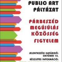 Public art pályázat