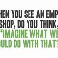 Mit tegyünk a városunkban lévő üres, kihasználatlan boltokkal?
