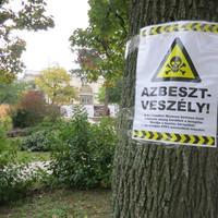 Tájékoztatást kaptunk az azbeszt veszélyről!