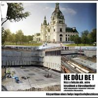 A Közlekedési múzeum építési engedélyét AZONNNNNNAL fel kell függeszteni!