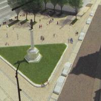 Szervita tér: marad az eredeti terv
