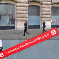 A Budapest Bank nyit fiókot a Kossuth téri házasságkötőben