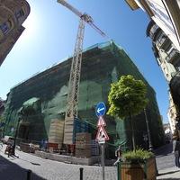 Újépítésű műemlék épül a Veres Pálné utcában