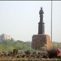Nepomuki Szent János szobra