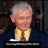90 éve született Herczeg Mihály Pro Urbe-díjas tanár, helytörténész, nyugalmazott vásárhelyi levéltár-igazgató [16.]
