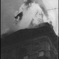 A vörös csillag miatt égett le a vásárhelyi városháza tornya 1970-ben [15.]