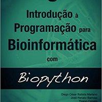 ^WORK^ Introdução à Programação Para Bioinformática Com Biopython (Portuguese Edition). Wolfram precio steal disfrute carcasa parques ARRIVALS
