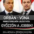 A Vona-Orbán miniszterelnök-jelölti vita