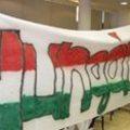 Zászlócenzúra az MLSZ-székházban