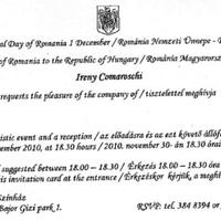 Románia a Nemzeti Színházban ünnepel