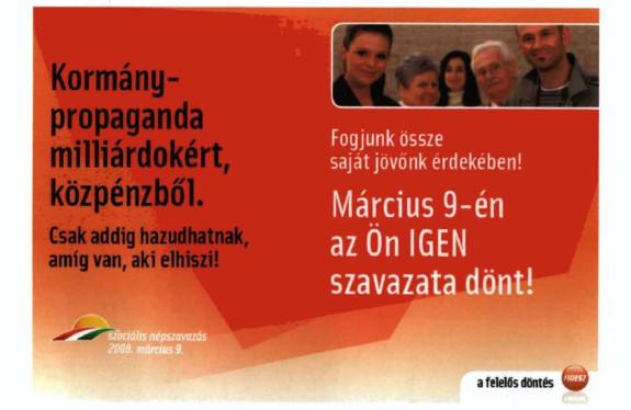2008 szocális népszavazás
