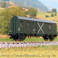 Ismét egy vasuTTmodell vasútmodell