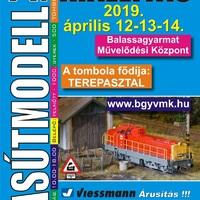 Tizedszer is vasútmodell kiállítás Balassagyarmaton