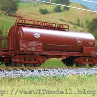 MÁV Zaekks tartálykocsi a vasuTTmodelltől