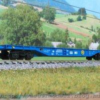 Konténer szállító kocsik a vasuTTmodelltől