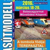 Programajánló:  Vasútmodell kiállítás - 2016 - Balassagyarmat