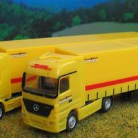DHL Scania a Herpától