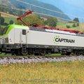 Captrain Vectron a Tilligtől