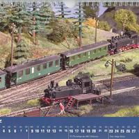 TT-Modellbahn 2009 naptár