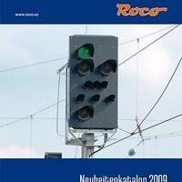Roco újdonságkatalógus 2009