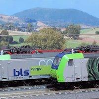 BLS-Cargo Traxxok a Kühntől