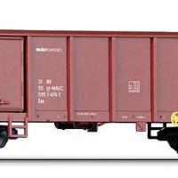 Megjelent a Tillig MÁV-Cargo nyitott vagonja