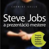 Steve Jobs, a prezentáció mestere (könyvajánló)
