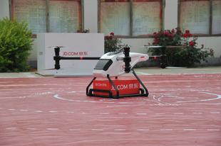 Drónfutárok lepik el Kína levegőjét