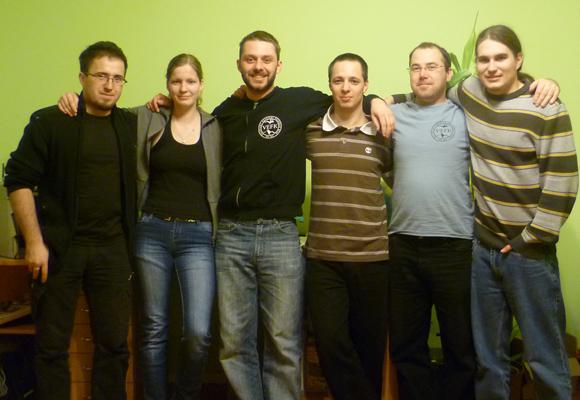 Vefk csapat fotó