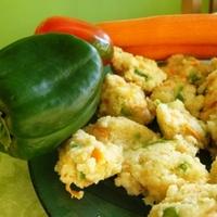 Zöldségleves zöldséges gombócokkal