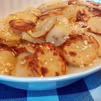 Szezámos tepsis krumpli