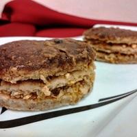 Zserbós palacsinta-tortácskák (vegán)