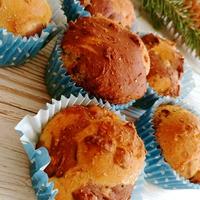 Karácsonyi kalács-muffin