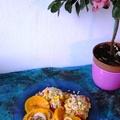 Hagymás sütőtökkarikák őszi rizottóval