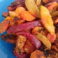 Rozmaringos sült zöldség