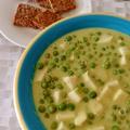 Karalábés zöldborsó főzelék (vegán, gluténmentes)