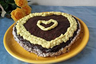 Valentin-napi torta
