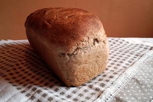 Félbarna toast kenyér
