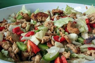 Hamis cézár saláta vegán módra
