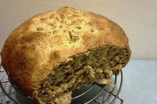 Lecsós kenyér