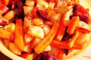 Sült őszi zöldségek