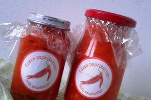 Chiliszósz, csípős paprikakrém házilag