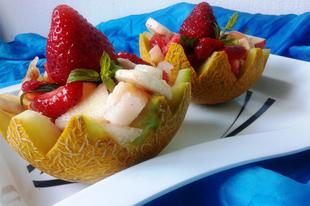 Fenséges és csinos gyümölcssaláta