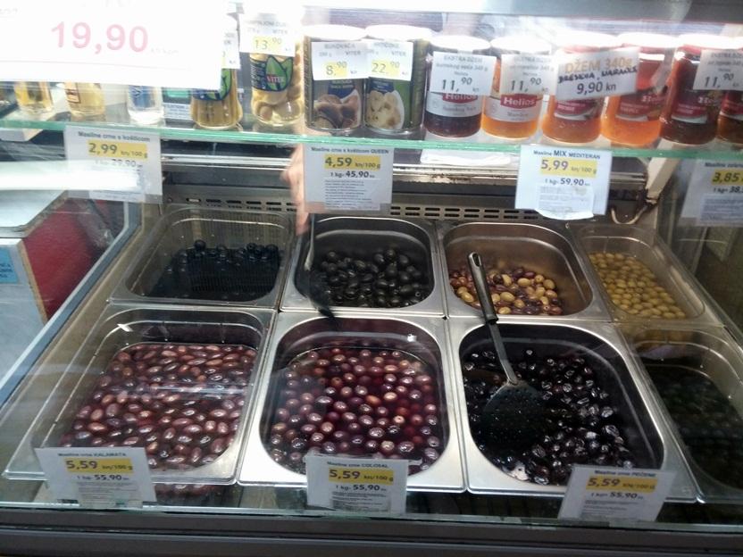 olívabogyók ott jobban elterjedtek