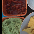 Tortilla chips-hez mártogatósok