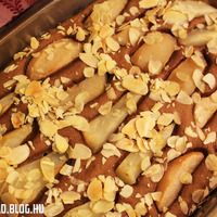 Körtés-gabonakávés sütemény