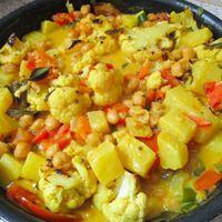 Ananászos keralan curry