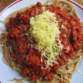 Vörösboros vegán bolognese